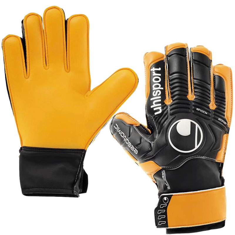 ПЕРЧАТКИ ВРАТАРЯ UHLSPORT ERGONOMIC SOFT ADVANCED 100014301 SR от магазина SPHF.ru