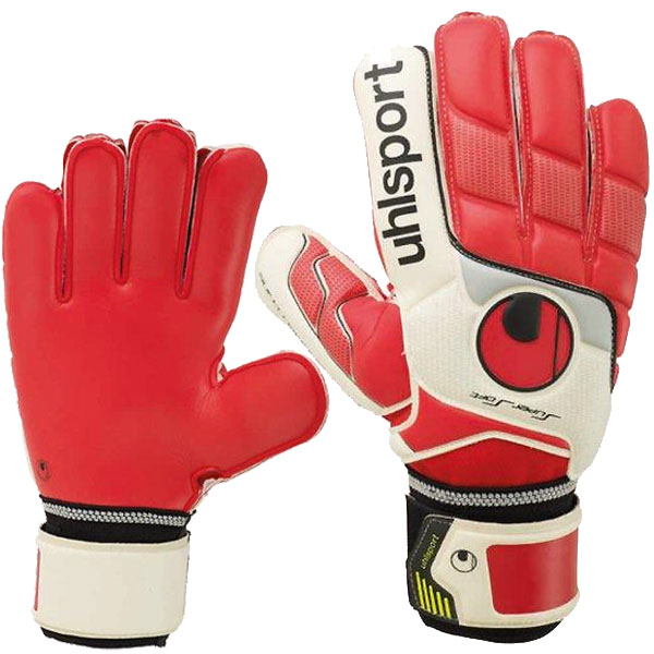 ПЕРЧАТКИ ВРАТАРЯ UHLSPORT FANGMASCHINE SUPERSOFT 100037201 SR от магазина SPHF.ru