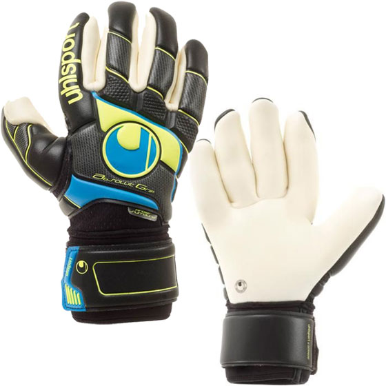 ПЕРЧАТКИ ВРАТАРЯ UHLSPORT FM ABSOLUTGRIP FINGERSURROUND 100057201 SR от магазина SPHF.ru