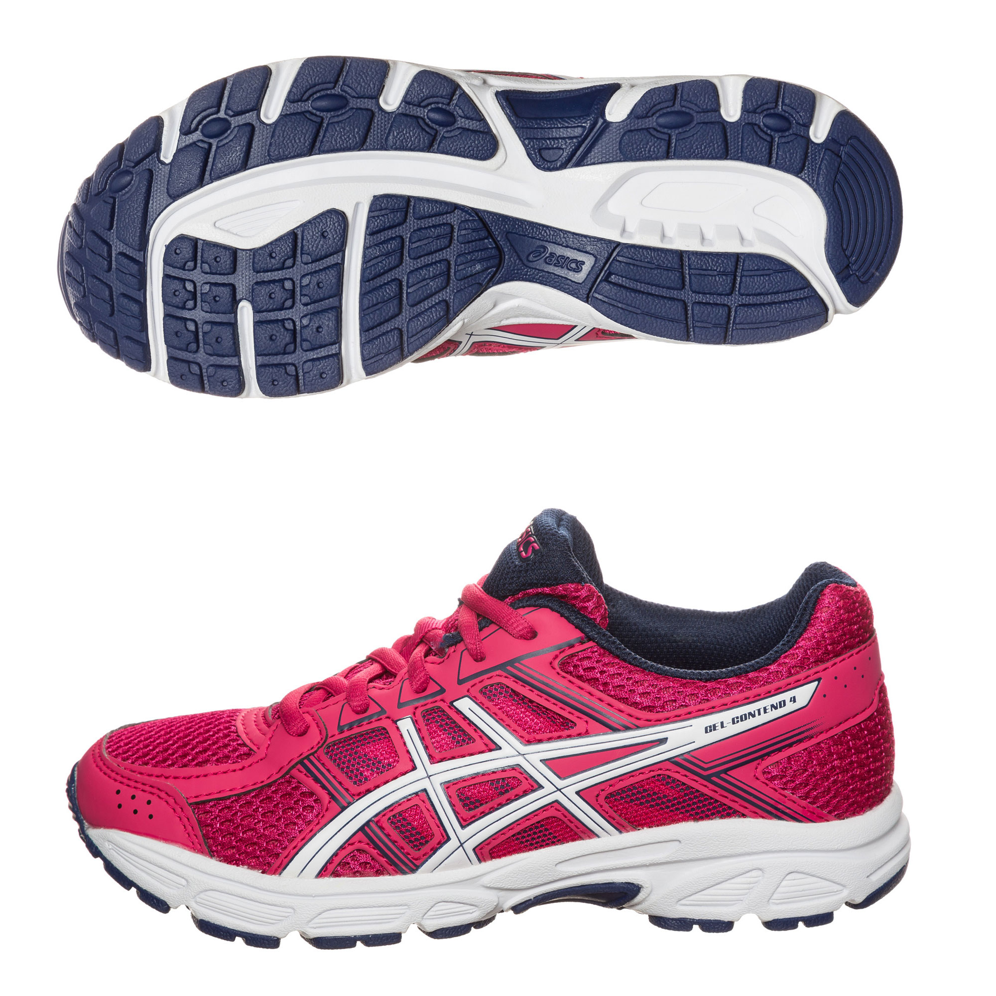 КРОССОВКИ ASICS GEL-CONTEND 4 GS C707N-2001 JR от магазина SPHF.ru