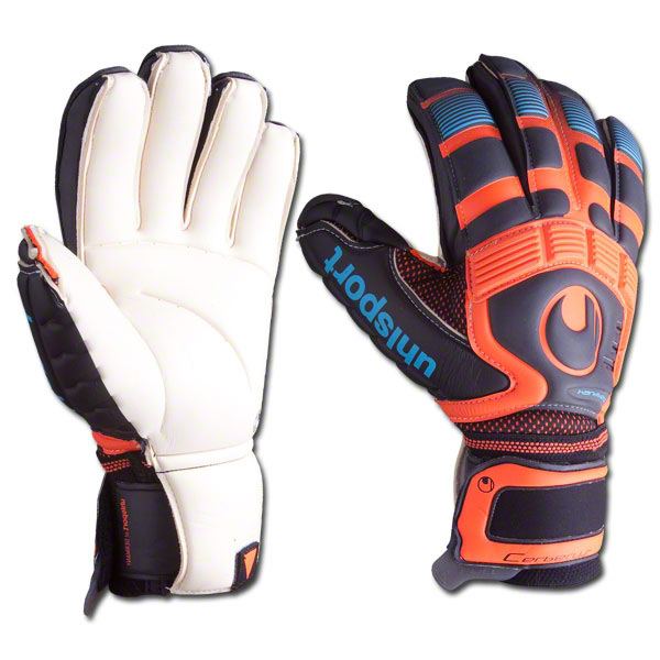 ПЕРЧАТКИ ВРАТАРЯ UHLSPORT CERBERUS ABSOLUTGRIP HANDBETT 100038501 SR от магазина SPHF.ru